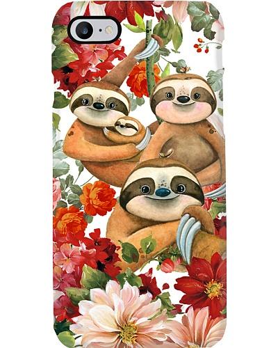 Sloth Flower Phonecase