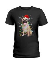 Staffordshire Bull Terrier Light Ladies T-Shirt thumbnail