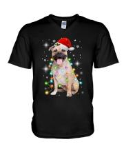 Staffordshire Bull Terrier Light V-Neck T-Shirt thumbnail