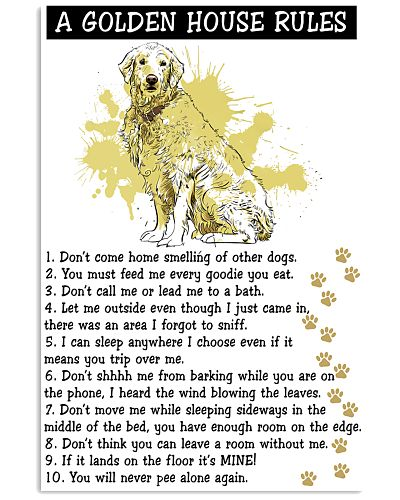 Golden Retriever House Rules