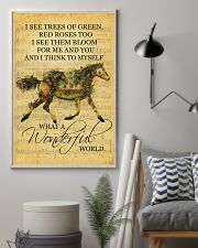 Horse I See Trees Of Green 11x17 Poster lifestyle-poster-1