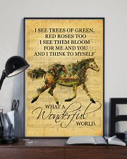 Horse I See Trees Of Green 11x17 Poster lifestyle-poster-2
