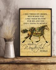 Horse I See Trees Of Green 11x17 Poster lifestyle-poster-3