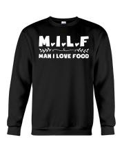 Man I Love Food Crewneck Sweatshirt thumbnail