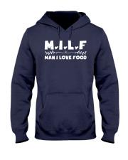 Man I Love Food Hooded Sweatshirt thumbnail