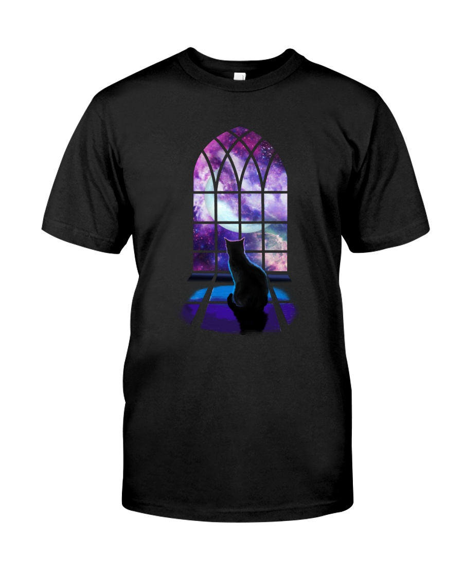 CAT - WINDOW Classic T-Shirt