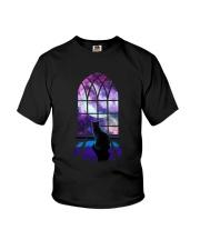 CAT - WINDOW Youth T-Shirt thumbnail