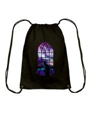 CAT - WINDOW Drawstring Bag thumbnail