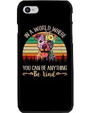 Pitbull In A World Phone Case thumbnail