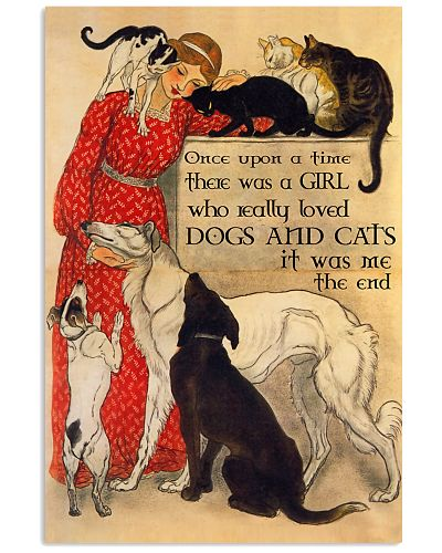 Cats And Dog Once Upon A Time Poster