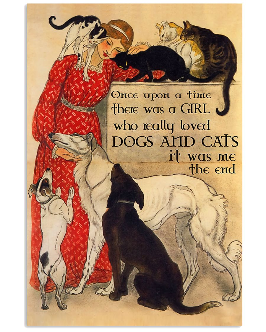 Cats And Dog Once Upon A Time Poster 11x17 Poster