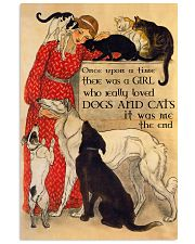 Cats And Dog Once Upon A Time Poster 11x17 Poster front