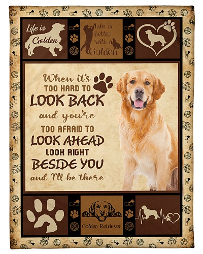 Golden Retriever Funny Hard To Look Graphic Design