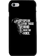 Pitbull Speak For Those Who have No Voice Phone Case thumbnail