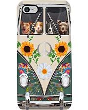 Pit Bull Hippie Bus Phonecase Phone Case i-phone-7-case
