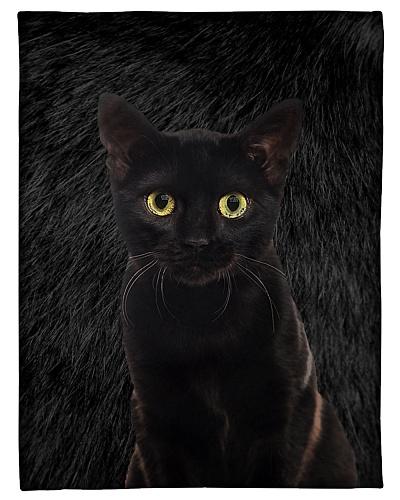 Cat Funny Blanket Black Face Graphic Design