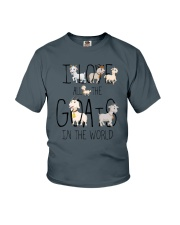 I love all the goats Youth T-Shirt thumbnail