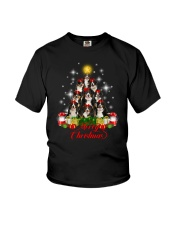 Bernese Mountain Dog Merry Christmas  Youth T-Shirt thumbnail