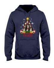 Bernese Mountain Dog Merry Christmas  Hooded Sweatshirt thumbnail