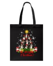 Bernese Mountain Dog Merry Christmas  Tote Bag thumbnail