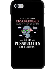 Currently Unsupervised Elephants  Phone Case thumbnail