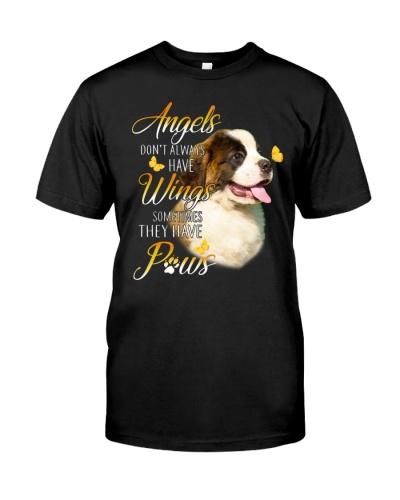 Saint Bernard Angels   Don't Always Have Wings