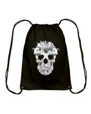 Pig Skull Drawstring Bag thumbnail