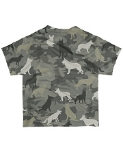 German Shepherd Camouflage All-over T-Shirt back
