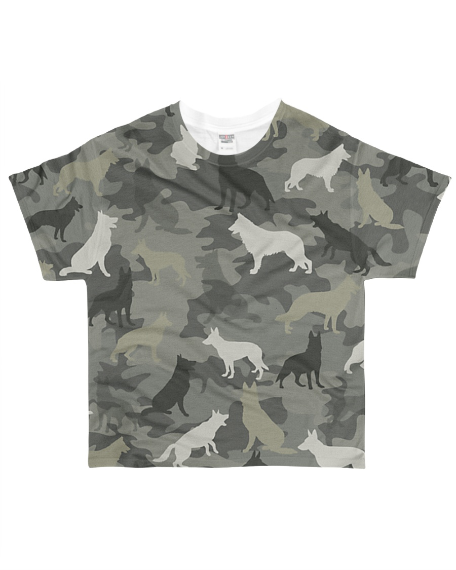 German Shepherd Camouflage All-over T-Shirt