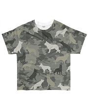 German Shepherd Camouflage All-over T-Shirt front