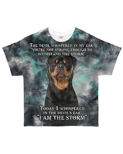 Rottweiler I Am The Storm