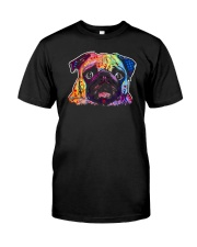 Pug - Perfect Gift For Christmas Classic T-Shirt front