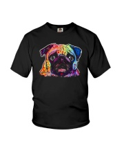 Pug - Perfect Gift For Christmas Youth T-Shirt thumbnail