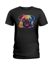 Pug - Perfect Gift For Christmas Ladies T-Shirt thumbnail