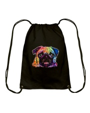 Pug - Perfect Gift For Christmas Drawstring Bag thumbnail