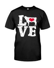 Cows- Love Classic T-Shirt thumbnail