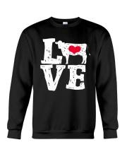 Cows- Love Crewneck Sweatshirt thumbnail