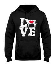 Cows- Love Hooded Sweatshirt front