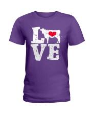 Cows- Love Ladies T-Shirt thumbnail