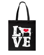 Cows- Love Tote Bag thumbnail