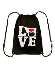 Cows- Love Drawstring Bag thumbnail