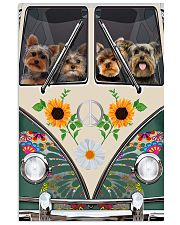 Yorkshire Terrier Peace Love 11x17 Poster thumbnail