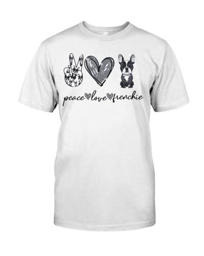 French Bulldog Peace Love