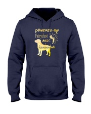 Powered By Fairydust And Labrador Hair Hooded Sweatshirt thumbnail