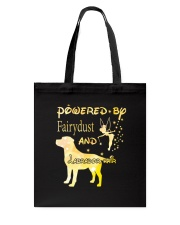 Powered By Fairydust And Labrador Hair Tote Bag thumbnail
