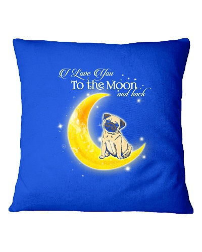 Pug I Love You To The Moon And Back