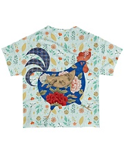 Chicken 3D All-over T-Shirt back