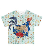 Chicken 3D All-over T-Shirt front