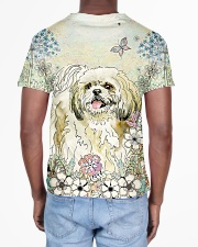 Shih Tzu 3D Dog All-over T-Shirt aos-all-over-T-shirt-lifestyle-back-02