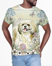 Shih Tzu 3D Dog All-over T-Shirt aos-all-over-T-shirt-lifestyle-front-04